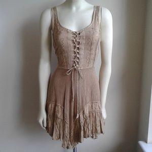 Taupe Gypse Dress